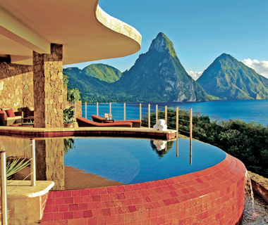 Best Resorts in the Caribbean: Jade Mountain