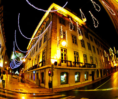 Beautiful Christmas Lights Around the World: Lisbon