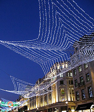 Beautiful Christmas Lights Around the World: London
