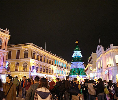 Beautiful Christmas Lights Around the World: Macau