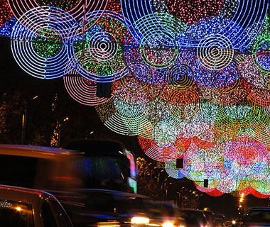 Beautiful Christmas Lights Around the World: Madrid