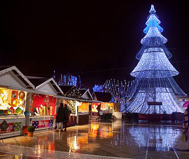 Beautiful Christmas Lights Around the World: Montpellier