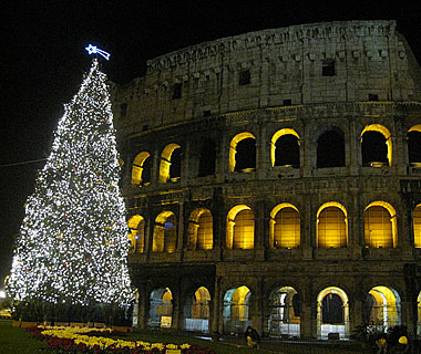 Beautiful Christmas Lights Around the World: Rome