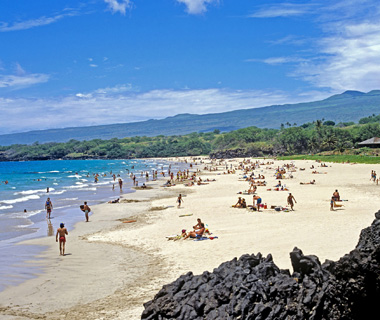 Hapuna Beach, The Big Island, HI