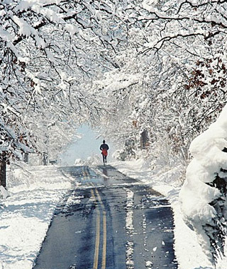 Beautiful Winter Scenes Around the World: Branson, MO