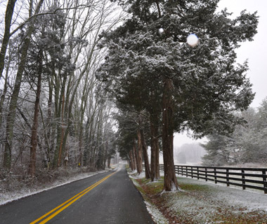 Beautiful Winter Scenes Around the World: Charlottesville