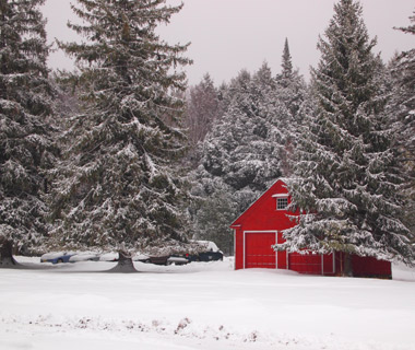 Beautiful Winter Scenes Around the World: Claryville, NY