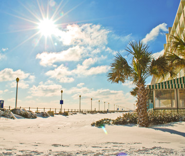 Beautiful Winter Scenes Around the World: Virginia Beach, VA