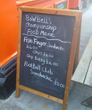 Funniest Menu Mistakes Around the World: football club sandwich