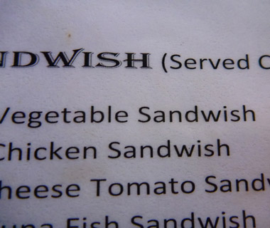Funniest Menu Mistakes Around the World: lunch