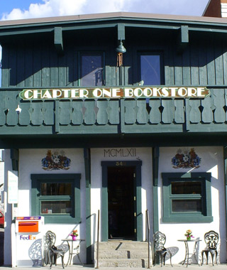 Chapter One Bookstore, Ketchum, ID