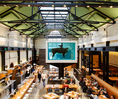 London's Best New Restaurants: Tramshed