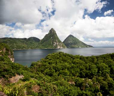 World's Most Romantic Islands: St. Lucia