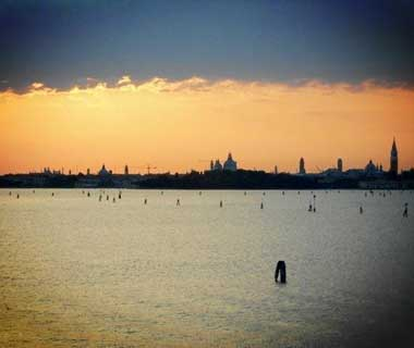 Super-Short Travel Stories: view of Venice from Lido