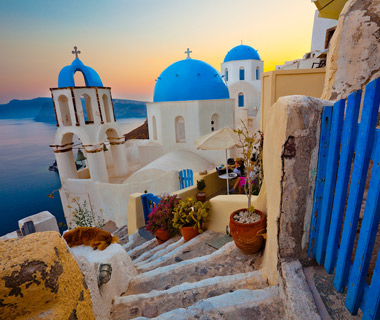 Beautiful Islands: Santorini