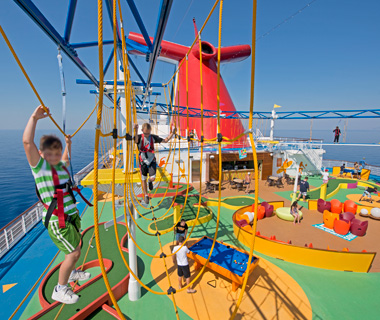 Best Cruises for Families: Carnival Breeze