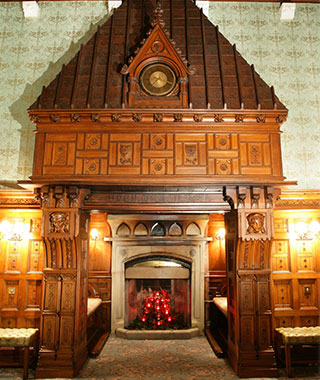 Most Romantic Hotel Fireplaces: Ashford Castle, Ireland
