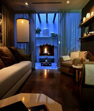 Most Romantic Hotel Fireplaces: Hotel Matilda, Mexico