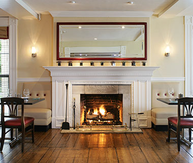 Most Romantic Hotel Fireplaces: The Equinox, VT