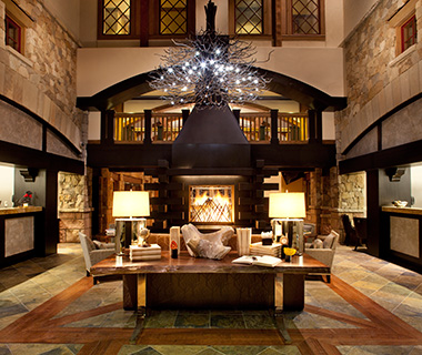 Most Romantic Hotel Fireplaces: The Sebastian, Vail, CO