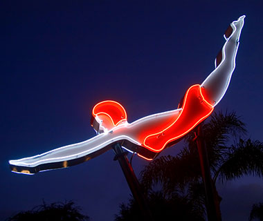 Cool Neon Signs: West Hollywood Motel