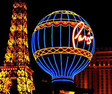 Cool Neon Signs: Paris Las Vegas Hotel & Casino