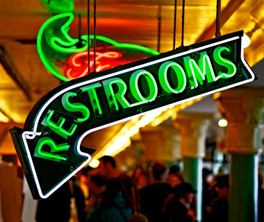 Cool Neon Signs: Pike Place Market