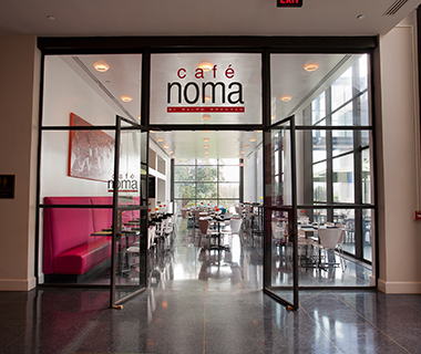 America's Best Museum Restaurants: Cafe Noma, New Orleans Museum of Art