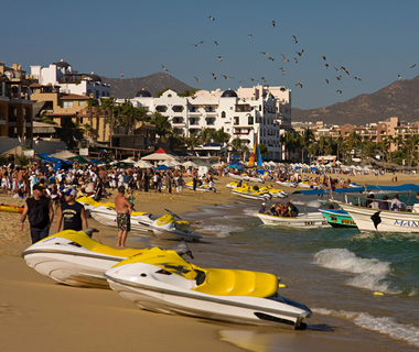 Most Crowded Spring Break Destinations: Cabo San Lucas