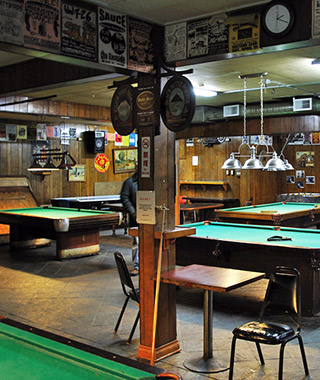 Best College Bars: Eastside Club Tavern, Evergreen State College, WA