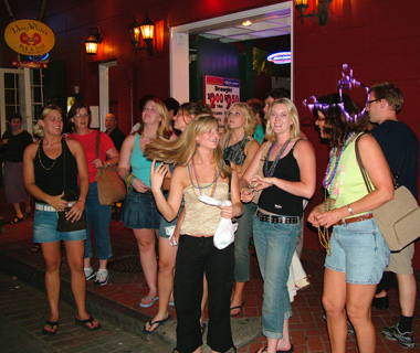 Most Crowded Spring Break Destinations: New Orleans