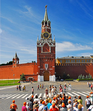 World's Most Beautiful Clock Towers: Saviour Tower, Moscow