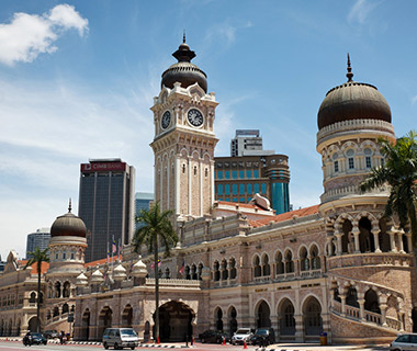 World's Most Beautiful Clock Towers: Sultan Abdul Samad Building Clock Tower