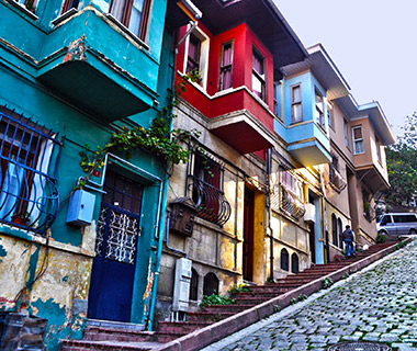 World's Most Colorful Cities: Balat, Istanbul