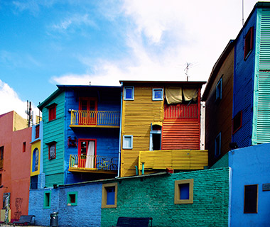 World's Most Colorful Cities: La Boca, Buenos Aires