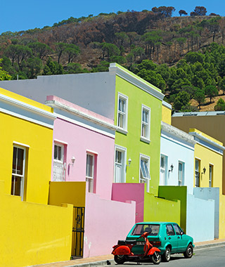 World's Most Colorful Cities: Bo-Kaap, Cape Town