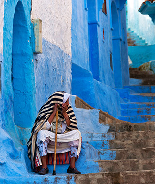 World's Most Colorful Cities: Chefchaouen