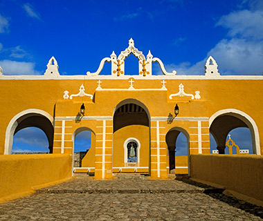 World's Most Colorful Cities: Izamal