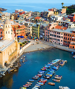 World's Most Colorful Cities: Vernazza, Italy