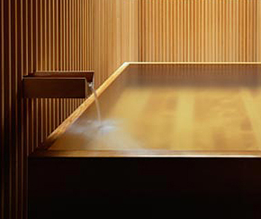 Coolest Hotel Bathtubs: Fujiya Inn
