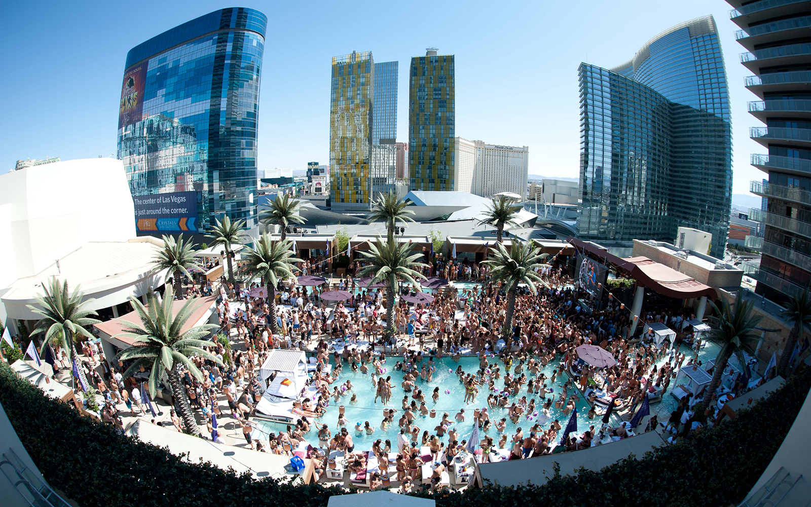 Best Pools in Las Vegas: Marquee Dayclub, The Cosmopolitan