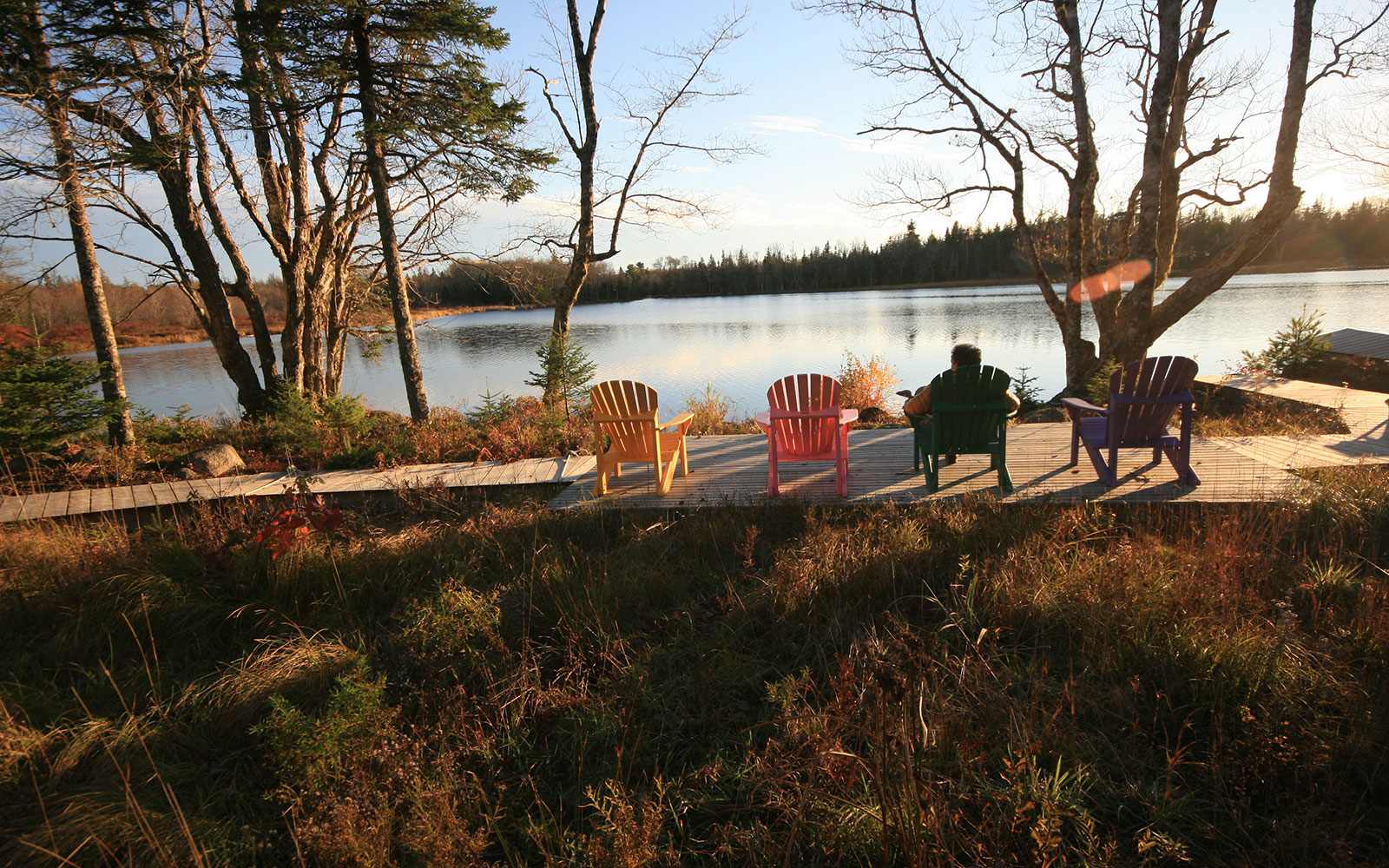 Best Places to Travel After a Divorce: Trout Point Lodge