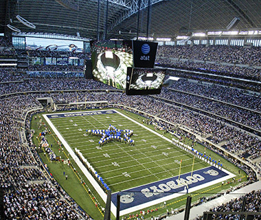 America's Best Stadium Food: Cowboys Stadium, Texas