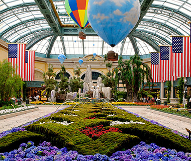 America's Top Free Attractions: Conservatory at Bellagio