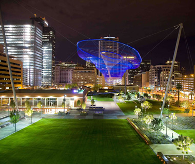 World's Most Beautiful City Parks: Civic Space Park