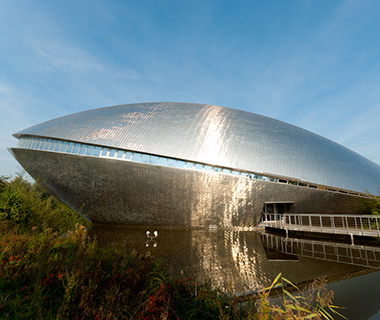 Buildings Shaped Like Animals: Universum Science Center
