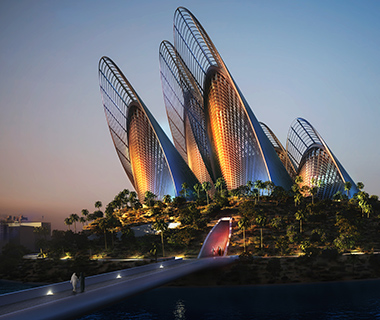 Buildings Shaped Like Animals: Zayed National Museum