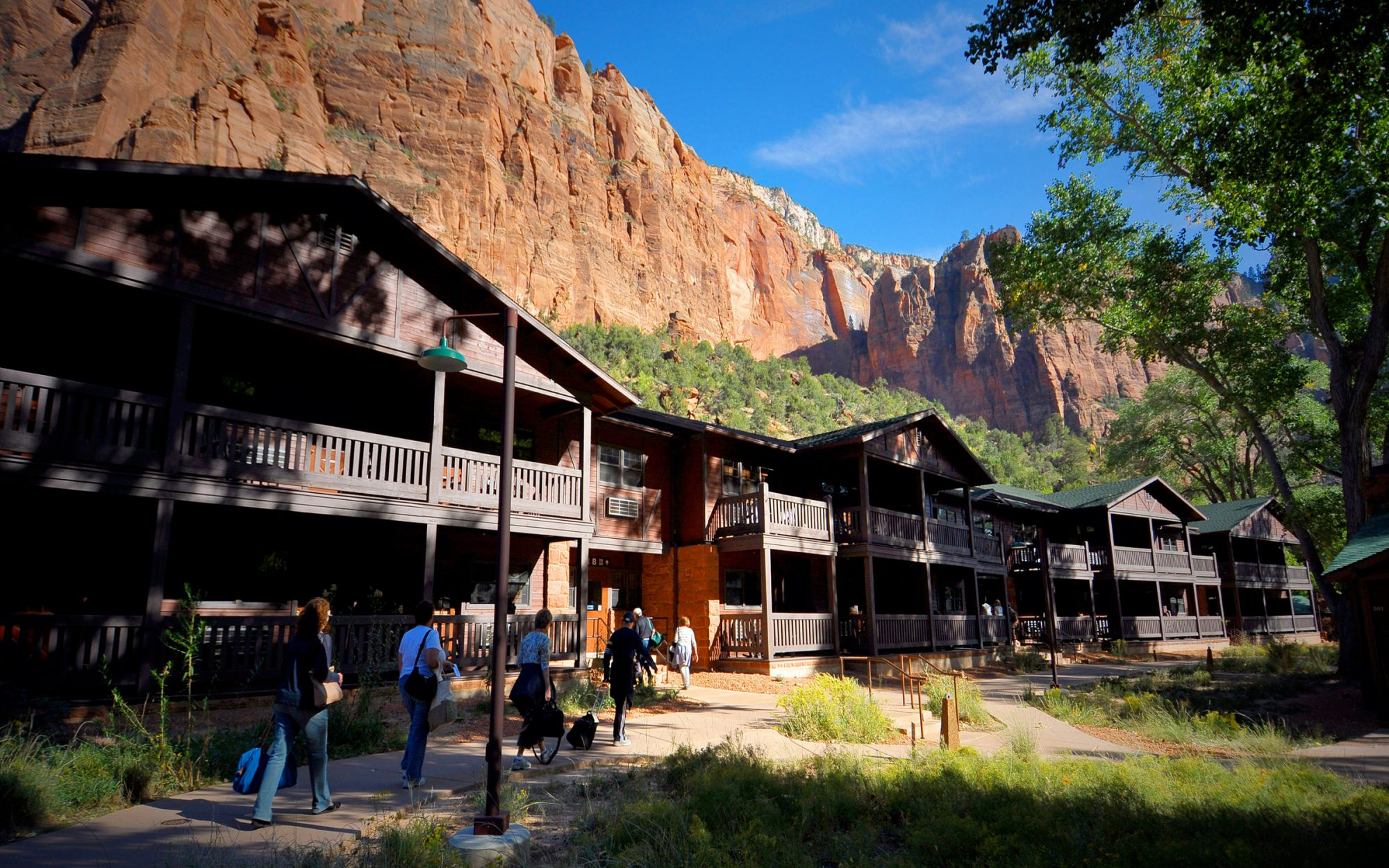 Great National Park Lodges: Zion Lodge