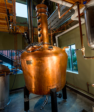 America's Coolest Distilleries: Bainbridge Organic Distillers