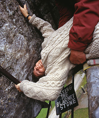 World's Weirdest Superstitions: Kissing the Blarney Stone, Ireland